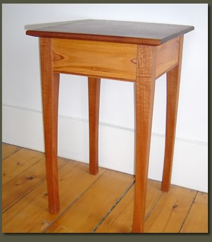 handmade end tables mahogany end table custom made end table and coffee 9295